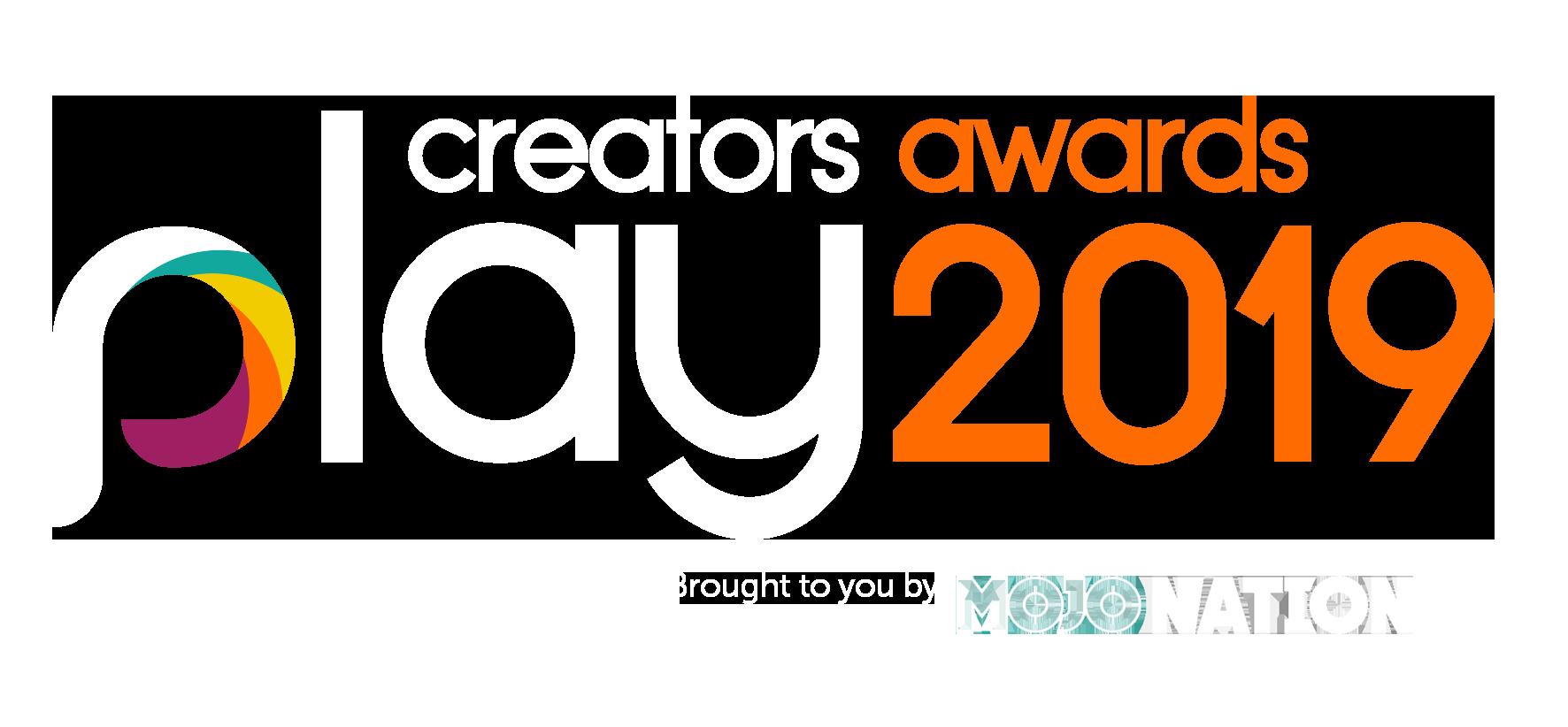 Play Creators Awards 2019 Logo